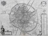 Stadsplan 'Lovanium vulgo Loven'