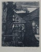 Het kapelletje / Het gebed