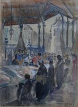 De Vismarkt te Leuven