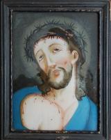 Achterglasschildering 'Jezus'