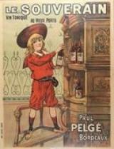Affiche 'Le souverain. Vin tonique'