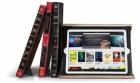 Je iPad in een middeleeuws lederen boek?