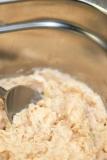 Broodje met huisgemaakte zalmsalade